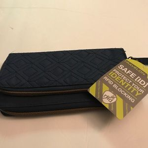 Traveling safe rfid wallet